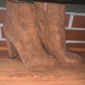Mossimo Supply Co. - Brown/Tan Ankle Boots